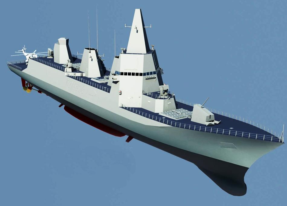 Type 055-china Plano Brazil
