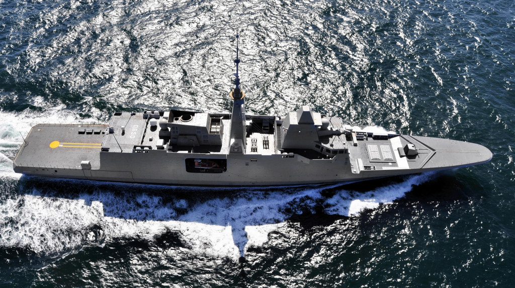 DCNS Iniciará a construção da sétima fragata FREMM