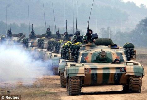 China Tanks North Korea