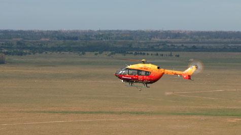 Eurocopter realiza voos de EC145 sem piloto a bordo