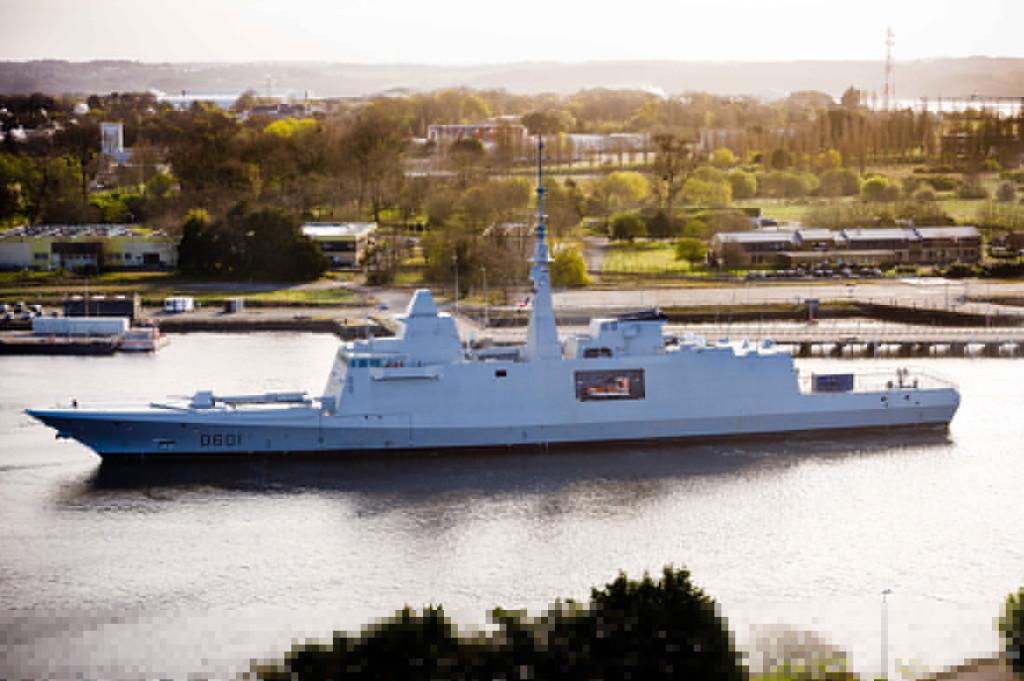 DCNS inicia testes de Mar da Fragata marroquina Mohammed IV