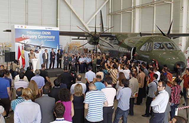 Indonésia estuda compra de mais sete Airbus Military C295