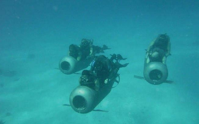 Grumec conta com minisubmarinos para o uso em operações especiais