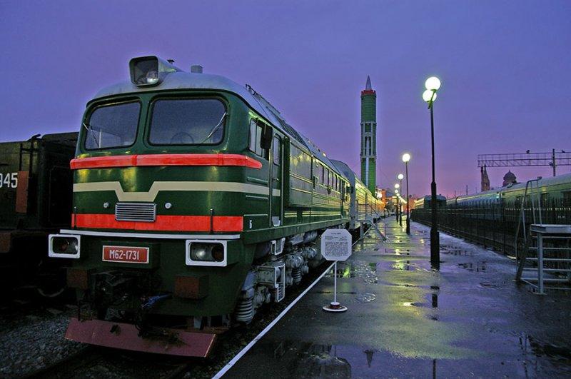 Rússia reativa o sistema de mísseis balísticos em – Vagões Ferroviários
