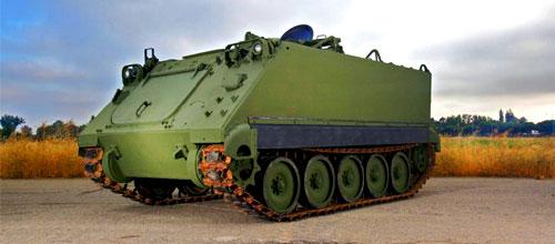BAE Systems apresenta na LAAD 2013 o M113A2 MK1