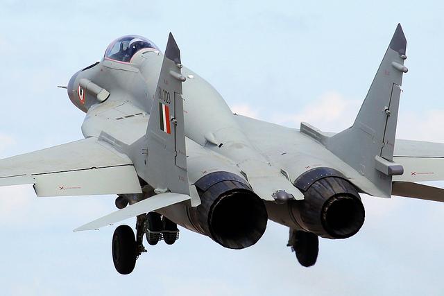 Começou a modernização de caças MiG-29 para a Força Aérea indiana