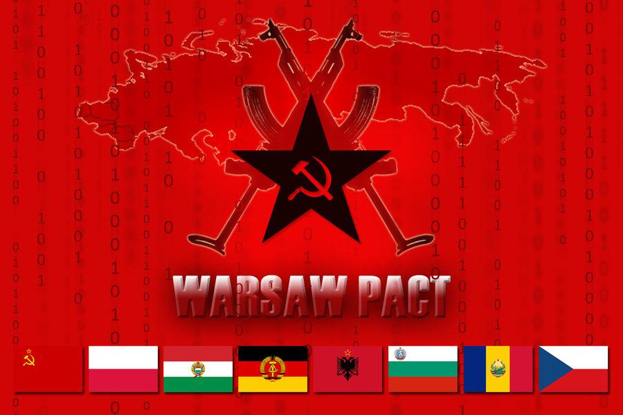 31 de março de 1991- Foi extinto o Pacto de Varsóvia