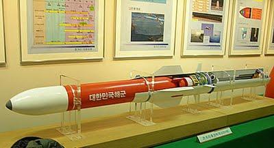 O míssil transportador de torpedo Red Shark , uma espécie de ASROC Sul Coreano,pode vir a ser uma das armas a compor o arsenal das FFX