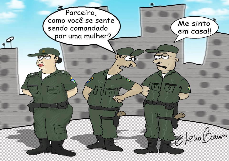 Humor: O comando… Comanda…