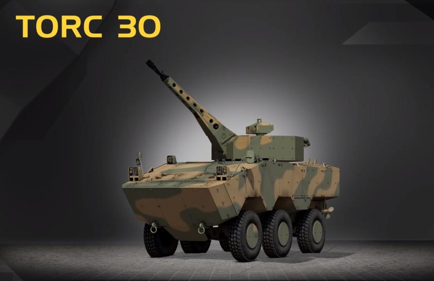 TORC 30 GUARANI, Imagem e  texto, Tecnologia&Defesa