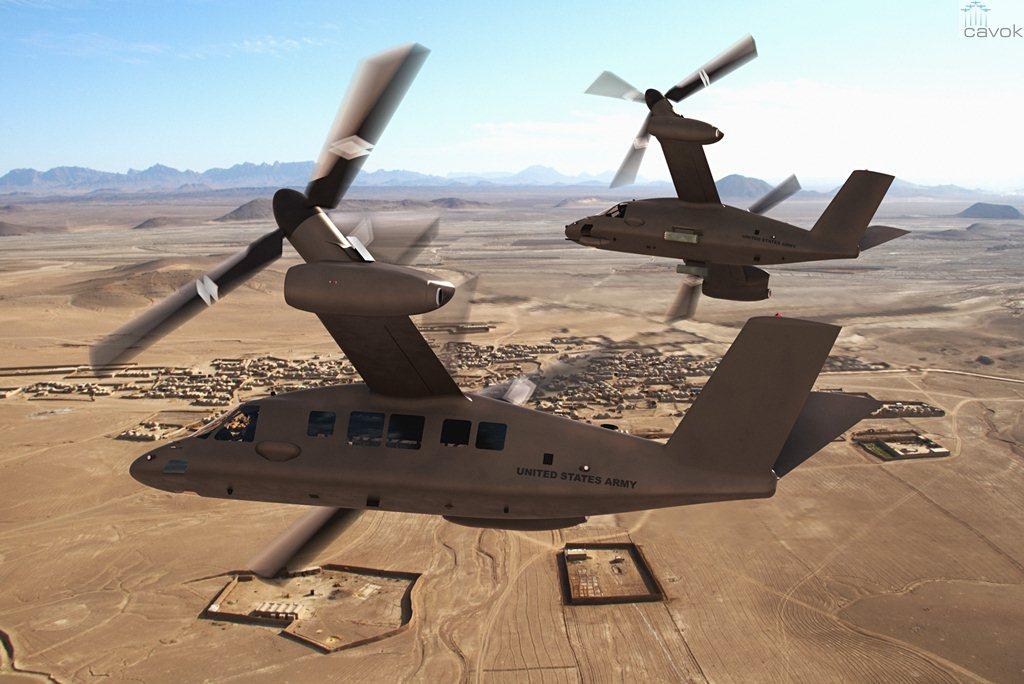 Bell apresenta o tiltrotor – V-280 Valor – para o Exército dos EUA