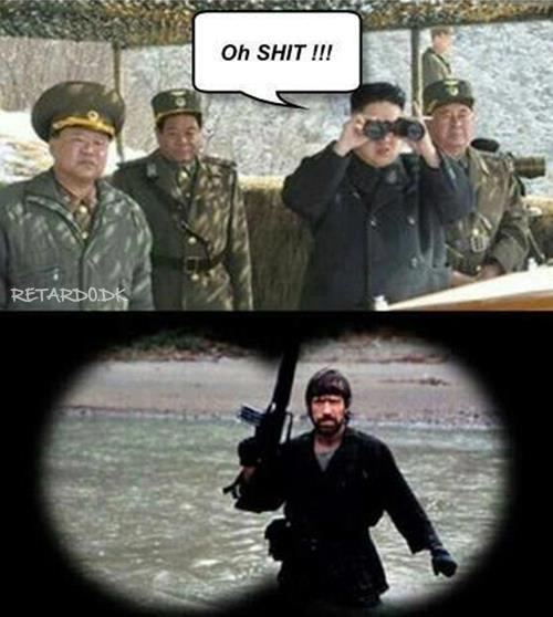 Humor: Coréia do Norte decide unilateralmente por fim ao conflito