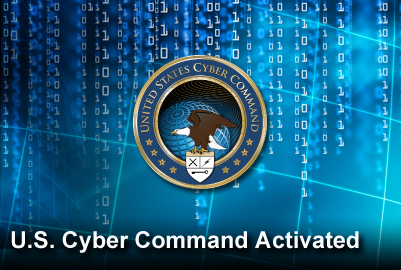 U.S. Cyber Command activated