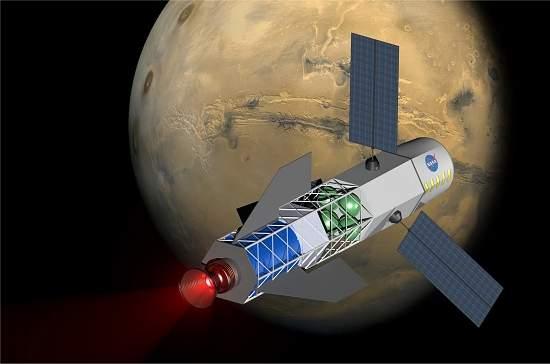 O conceito do motor a fusão nuclear para impulsionar espaçonaves será testado até meados deste ano em laboratório.[Imagem: University of Washington/MSNW]