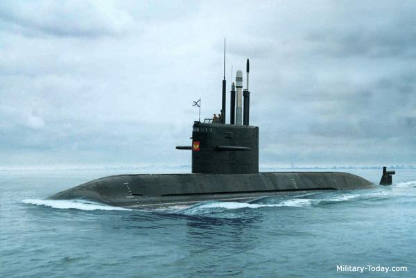 Rússia exporta submarinos para a Ásia