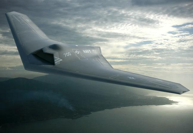 UCLASS: LM revela ao público a aeronave de vigilância aérea e ataque não tripulada baseada em Porta Aviões