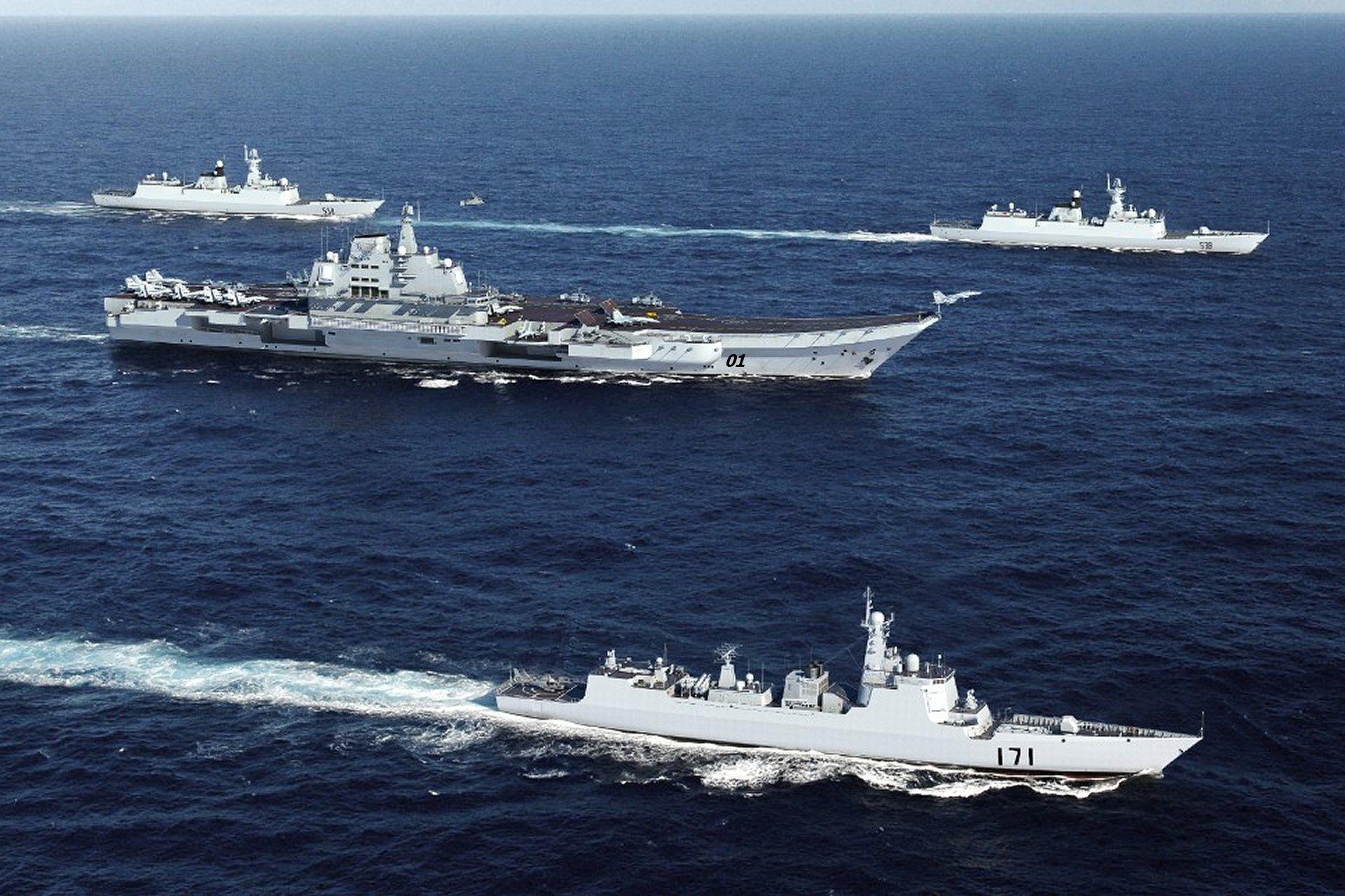 A China vai enviar o seu primeiro porta-aviões em uma comissão em alto-mar