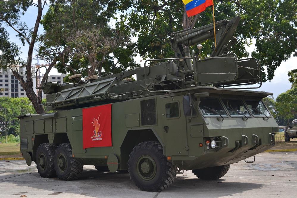 Mais equipamento antiaéreo chega à Venezuela