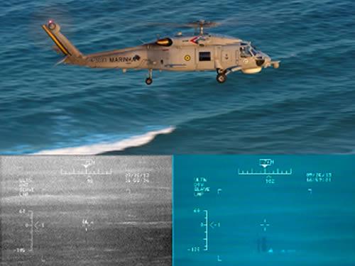HS-1 e o SeaHawk participa de sua primeira operação com a presença de submarino