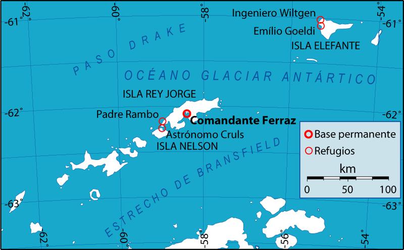 Ilha do Rei George - Base Comandante Ferraz