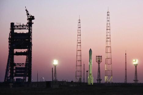 Uma nova estação de ajuste de dados do sistema de localização por satélite russo Glonass será instalada no Brasil até o final deste ano Foto: Oleg Urusov / RIA Novosti