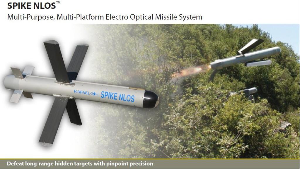 Força Aérea da Colômbia (FAC) receberá mísseis anticarro Spike NLOS