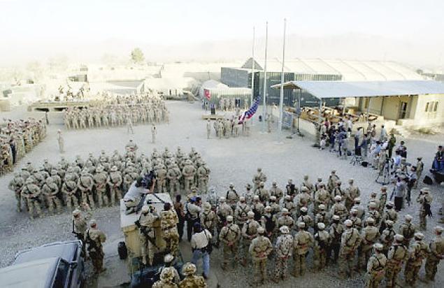 Estados Unidos quer nove bases em todo Afeganistão