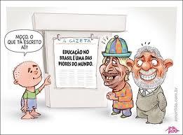 Brasil fica em penúltimo lugar em ranking global de qualidade de educação