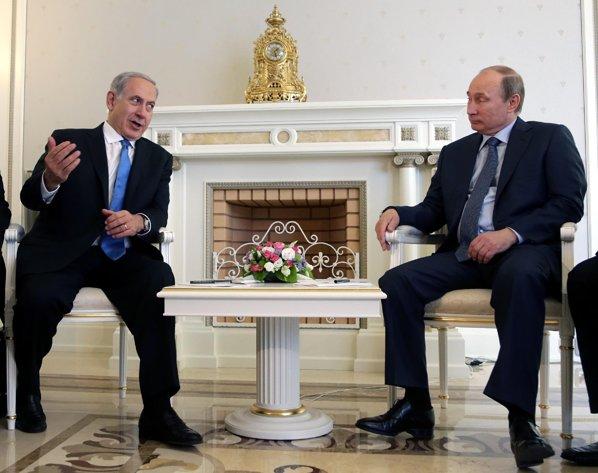 Putin adverte Netanyahu sobre atos que possam desestabilizar a Síria