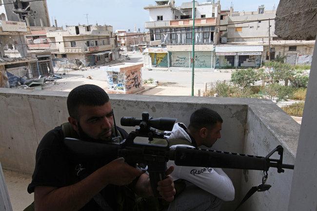 rebeldes syrios arma americana