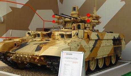 A Rússia na IDEF 2013: o Terminator irá surpreender