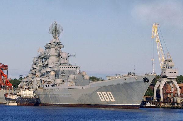 """Contrato para a modernização do cruzador russo,""""Almirante Nakhimov"""""""