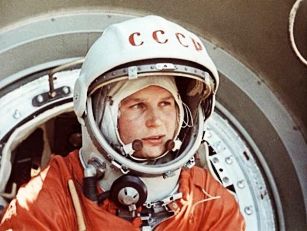 As primeiras exploradoras do espaço