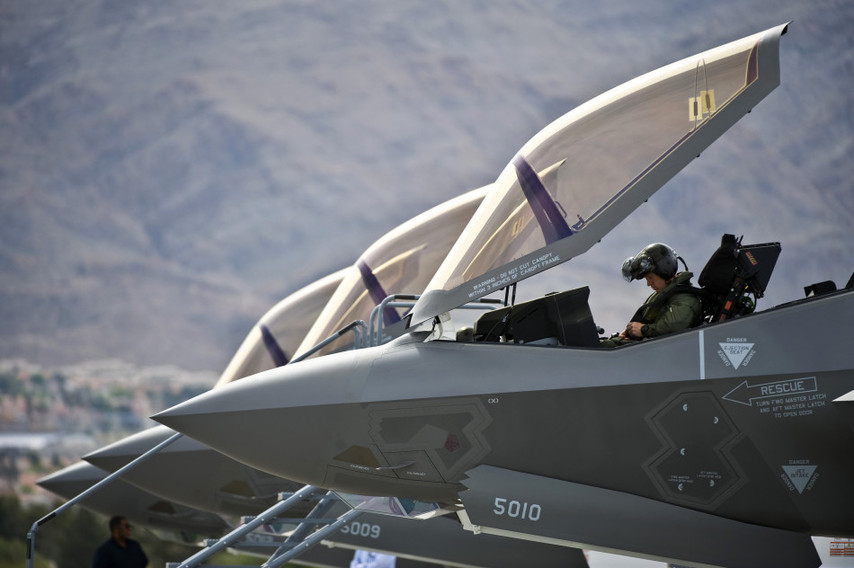 F-35 Departs for First Training Mission