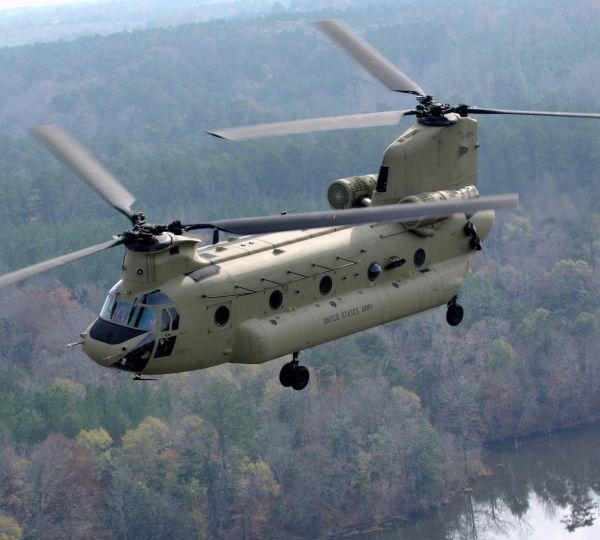CH-47F In Flight