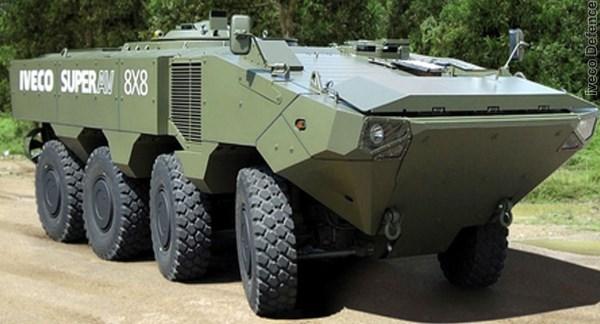 Corpo de Fuzileiros Navais dos Estados Unidos testa veículo 8×8 desenvolvido pela Iveco e BAE Systems