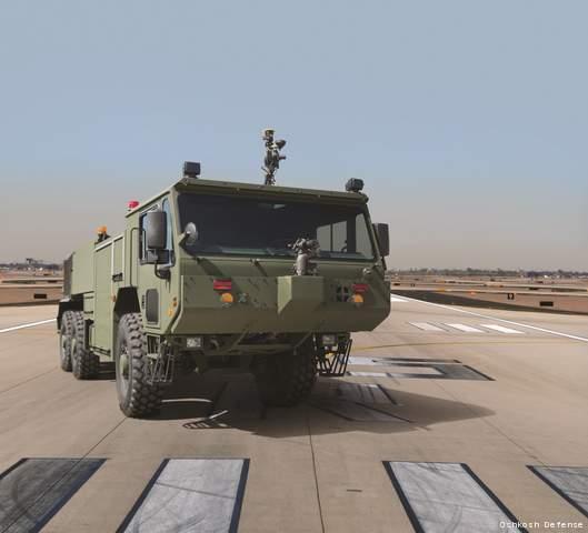 P 19R, foto: Oshkosh_Defense_para o Plano Brasil