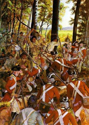 Rangers entre os primeiros líderes do Exército dos Estados Unidos