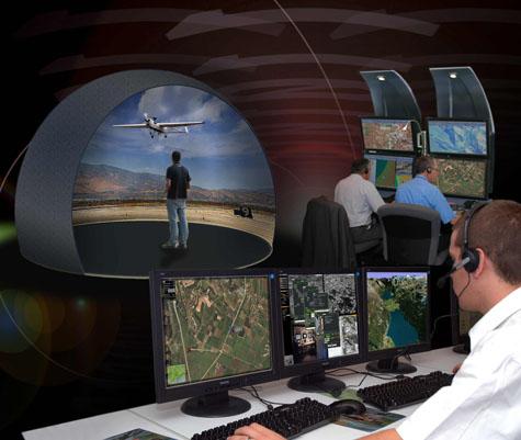 Treinador de Missão para Sistemas Aéreos Não Tripulados da Israel Aerospace Industries Ltd.