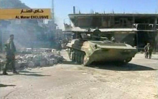 Exército da Síria anuncia recaptura de cidade estratégica