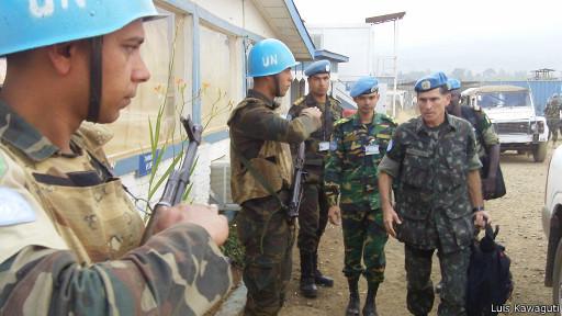 Após passagem pelo Haiti, Congo impõe desafio a general brasileiro da ONU