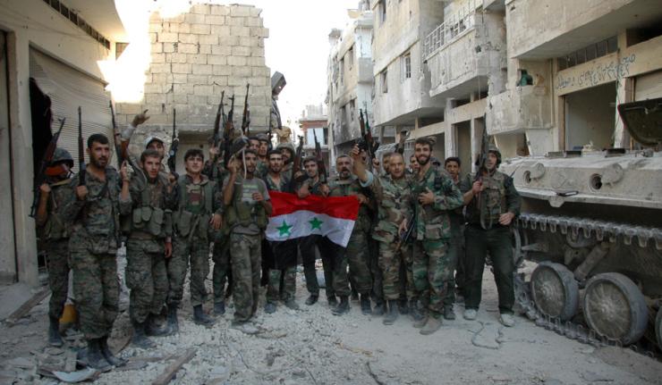 Tropas de Assad tomam cidade de Homs