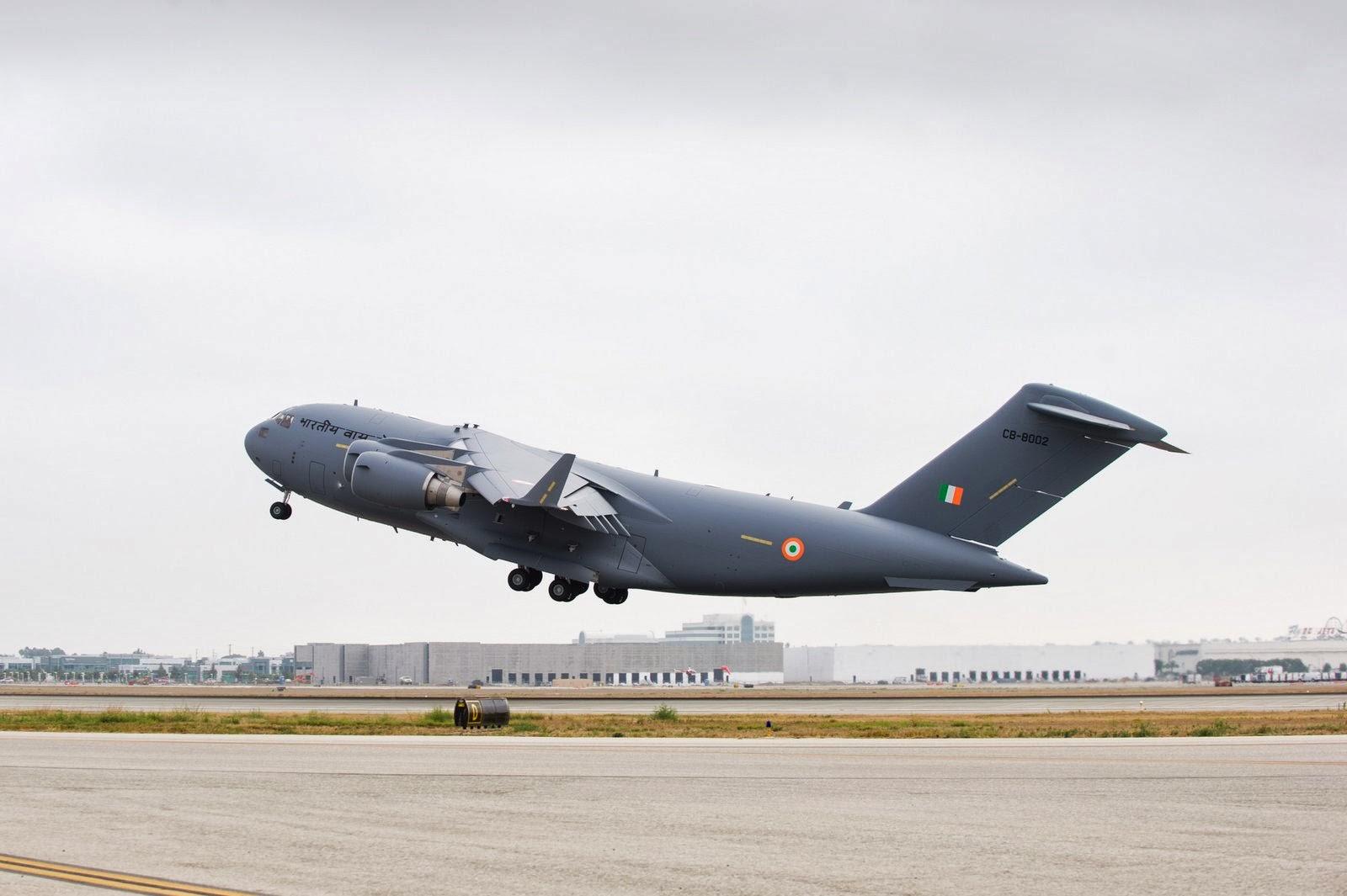 Enquanto isso no outro BRICS II: Índia recebe segunda aeronave C 17