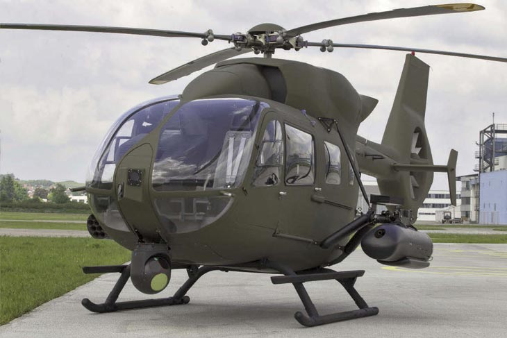 Alemanha encomenda 15 helicópteros EC645 T2 LUH