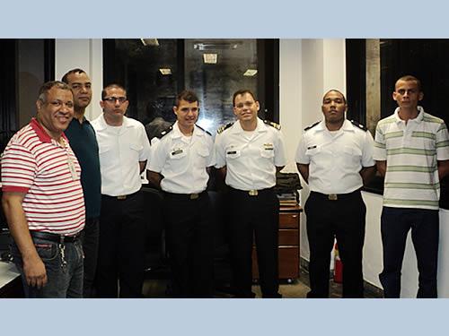 Escola Naval realiza Concurso Batalha Naval do Riachuelo do Grêmio de Comunicações