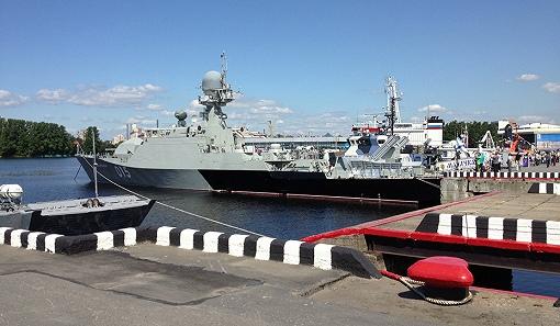 São Petersburgo recebe Mostra Internacional de Defesa Marítima
