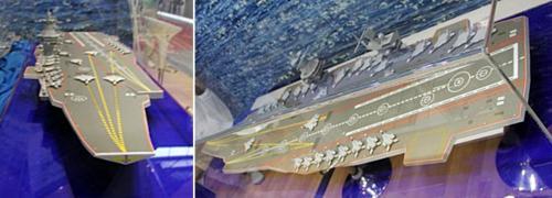 Novas informações e imagens do projeto do futuro porta-aviões Russo
