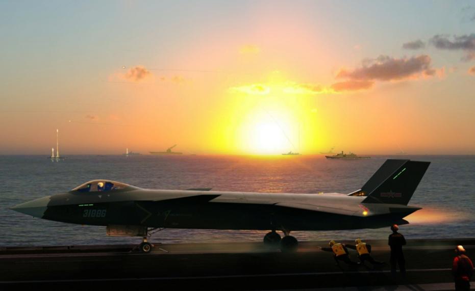 Ambas as aeronaves podem vir a ser desenvolvidas em suas versões navais baseadas em Porta Aviões. Para alguns analistas o J-20 Naval poderá ser o Caça de defesa da Frota e o J-31 a aeronave multifunção da da Marinha.