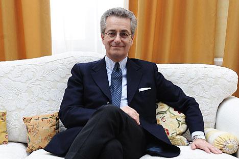 Embaixador da Itália em Moscou: Futuro italiano e europeu depende da Rússia