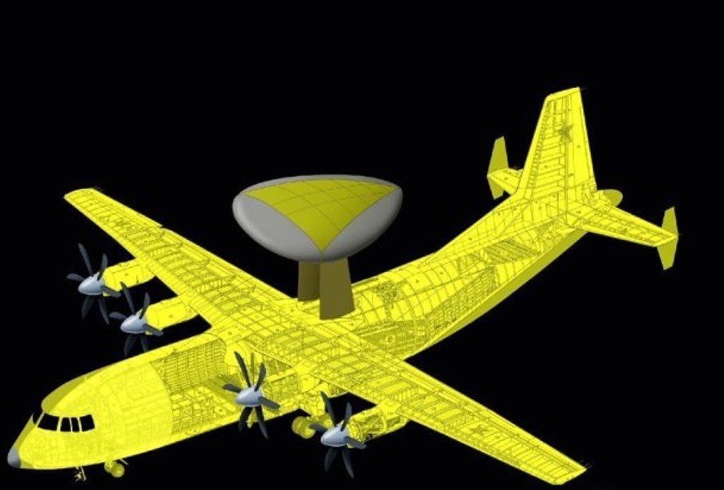 China revela nova geração de aeronaves AEW&C Y-9